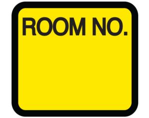 Room Number Labels