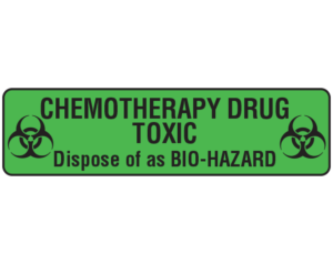 Chemotherapy Labels
