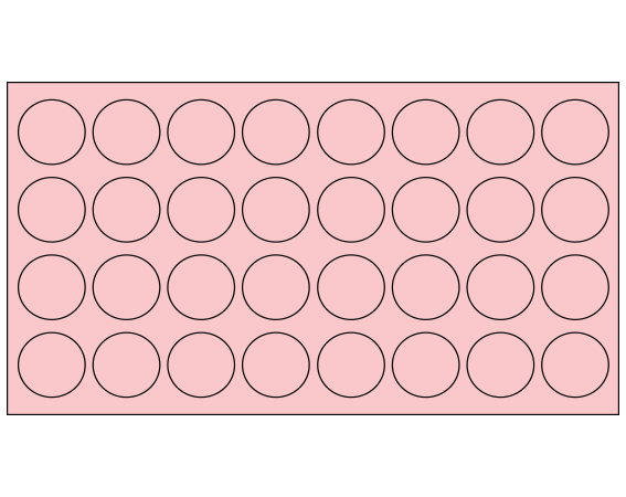 """Pink 7/16"""" DIAMETER Cryostick Labels for Cryogenic Use"""