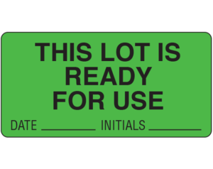 Lot Signal Labels