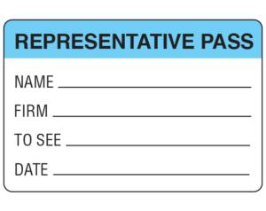 Representative Passes
