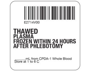Plasma Labels