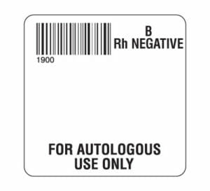 Autologous Labels