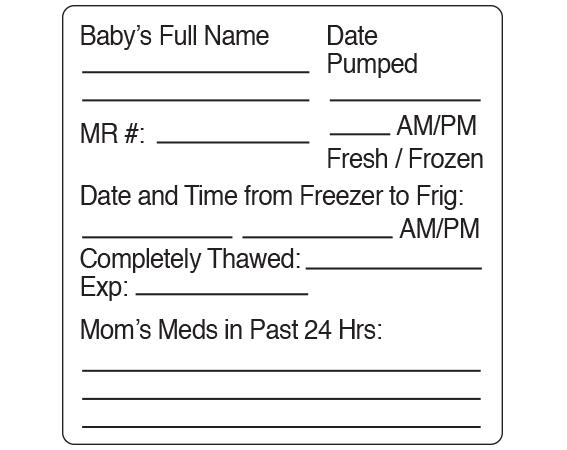 SNL-304 | Nursing Labels for Instruction and Communication