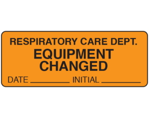 Respiratory Therapy Labels
