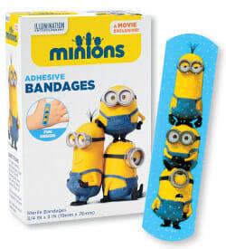 Image result for minion bandage