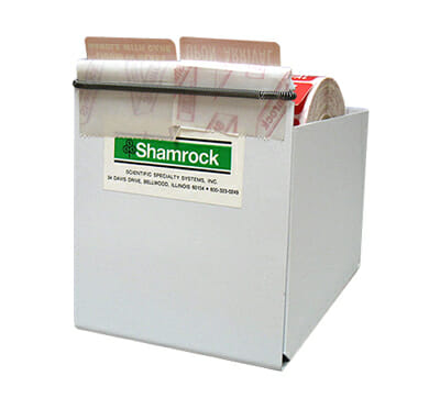 """4-1/4"""" WIDE Pre-Cut Label Dispenser for Widths up to 4-1/4"""""""