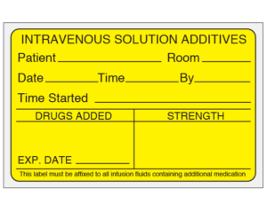 Medication Added Labels
