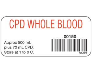 Codabar Labels