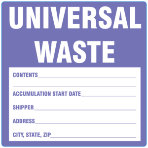 Waste Control Labels
