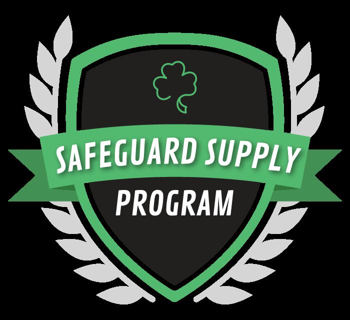 Shamrock Safeguard Supply Program-Badge